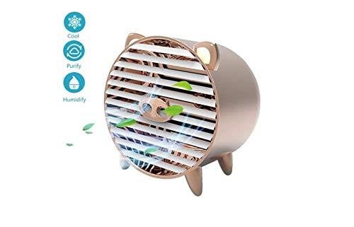 Luftkühler Mini Usb Personal Air Conditioner Kleiner Luftbefeuchter-Lüfter Mit 4 Geschwindigkeiten Für Büro, Haushalt, Outdoor,A,A (Luftbefeuchter, Outdoor-sensor)