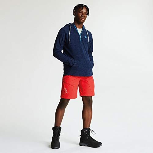 41QBNnAFoML. SS500  - Dare 2b Men's Ellevate Half Zip Kangaroo Pocket Hooded Fleece