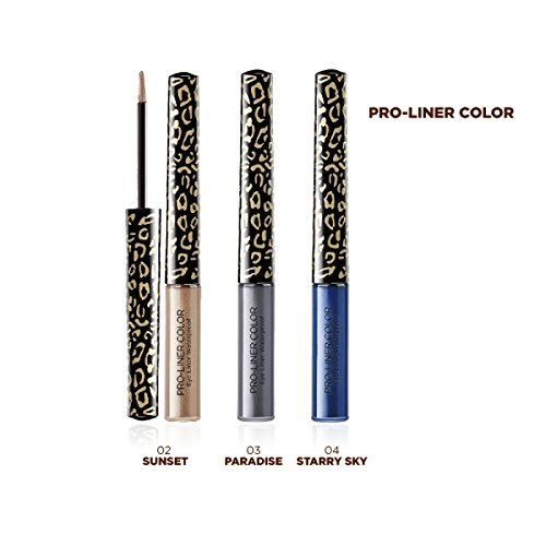 ASTRA PRO-LINER Waterproof GOLD ANIMALIER 04 Starry sky Eyeliner Cosmetici