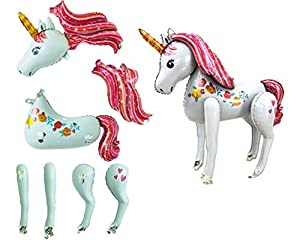 Súper Unicornio Grande Modelo De