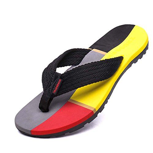 ZXCV Scarpe all'aperto Pattini all'aperto delle pantofole della spiaggia delle coppie maschii e femminili Nero