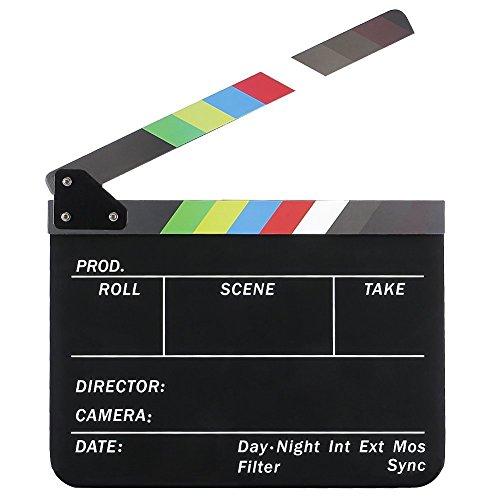 afaith-professional-studio-kamera-fotografie-video-acryl-dry-erase-director-film-clapperboard-cut-ac