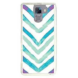 a AND b Designer Printed Mobile Back Cover / Back Case For Huawei Honor 7 (HON_7_3044)