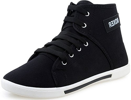 Scatchite Men's Boxer Black Casual Shoe-8