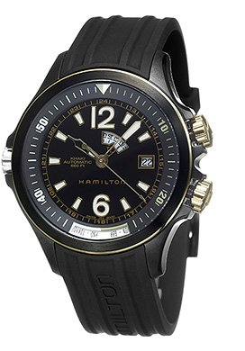 Hamilton - Reloj de pulsera hombre, caucho