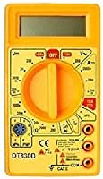 Generic DT830D Digital Multimeter Small Yellow Color LCD Ac Dc Measuring Voltage Current