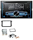 caraudio24 JVC KW-R520 MP3 USB CD 2DIN AUX Autoradio für Skoda Fabia Octavia II Rapid Roomster