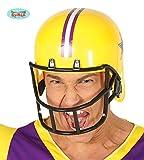 Fiestas Guirca Erwachsenes Abendkleid Gelber amerikanischer Football-Helm