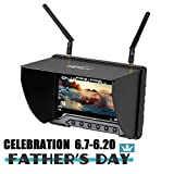 Flysight FPV Monitor Black Pearl RC801 with DVR 5.8G 40CH Wireless 7' LCD Screen...
