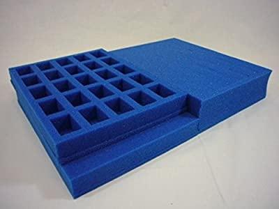KR Multicase Tray Set: Holds all of the miniatures from Assassinorum Execution Force (troops, tokens, dice board etc)