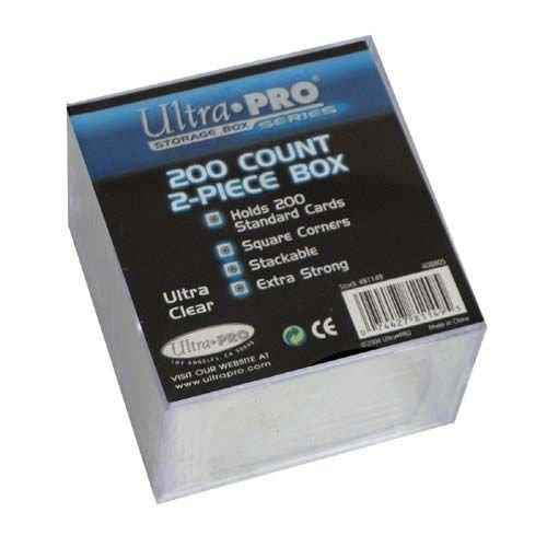 Ultra Pro 81149 - UltraPRO - 2-Piece 200-count Storage Box