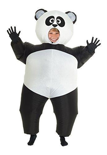 Morphsuits GIANT PANDA aufblasbar Kinder Kostüm–EINE (Für Die Schwarze Halloween Besten Kostüme Menschen)