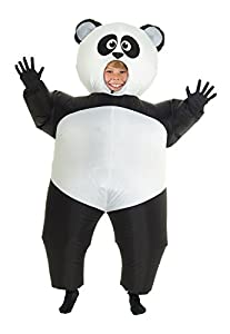 Morphsuits Panda Gigante Hinchable Blow Up Disfraz Disfraz - Talla única Compatible