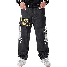 Pantalones Amazon Skate Amazon Pantalones es Negro Skate Negro Amazon es es  Pantalones rdrwIzq 09961be48a9