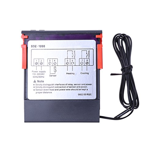 Digital STC-1000 Allzwecktemperaturregler Thermostat W Sensor AC 220V -