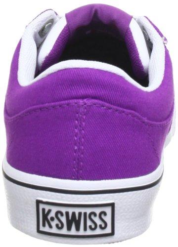 K-Swiss ADCOURT CVS-L VNZ 93066-562-M, Sneaker donna Viola (Violett (Sparkling Grape/White/Black))