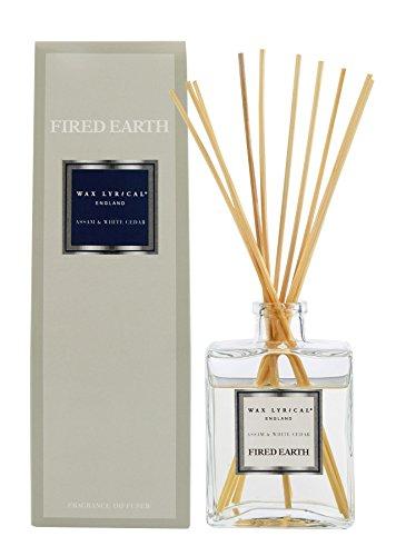 Wax Lyrical Fired Earth Assam & White Cedar -