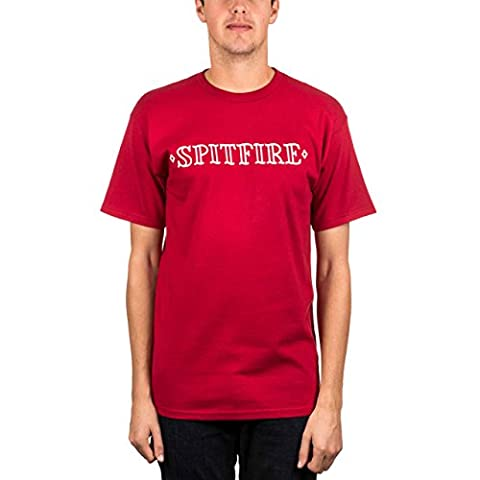 Spitfire Lifer Tee Cardinal L