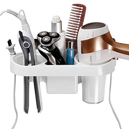 Wandmontage Haartrockner Halter Spirale Haarpflege Werkzeuge Hängen Rack Organizer für Föhn, Glätteisen, Lockenstab, Haarglätter -