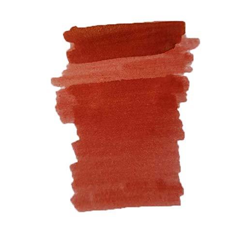 Nueva tinta Diamine 50ml botella Shimmer Ink (Sangre de dragón)