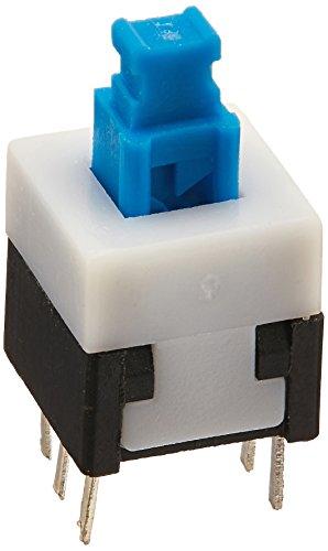 30pcs 6Pins Quadrat 8, Latching Typ DPDT Mini Push Button Switch Dpdt Push-button