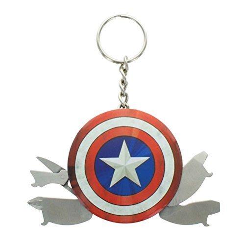 Paladone - Capitán América Llavero multiusos (PP3399MA)