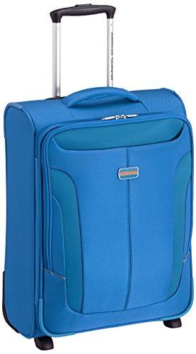 American Tourister  Equipaje de cabina, 55 cm, 41 L, Azul
