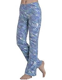 Pantaloni Sportivi da Donna con Stampato Festa Motivo Style Stampato Fantasia  Pantaloni Elasticizzati Slim Fit in c4308e15c6d8
