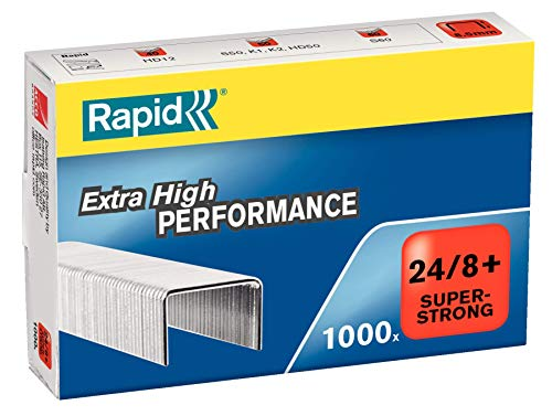 Rapid SuperStrong Agrafes 24 / 8 x1000