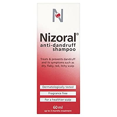 Nizoral Anti Dandruff Shampoo, 60 ml : everything 5 pounds (or less!)