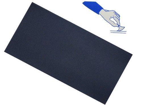 Selbstklebender Reparatur Aufkleber Flicken - Nylon - dunkelblau / blau - wasserabweisend - für Bekleidung Regenartikel / ideal für Leder Sofa - Regenbekleidu..