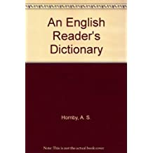 An English Reader's Dictionary