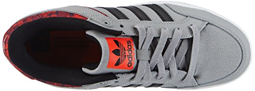 adidas Varial Low, Sneakers basses mixte adulte Grau (Mgh Solid Grey/Core Black/Solar Red)