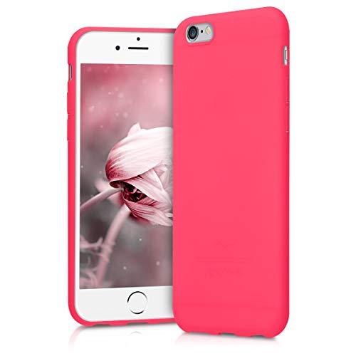 kwmobile Apple iPhone 6 / 6S Hülle - Handyhülle für Apple iPhone 6 / 6S - Handy Case in Neon Pink
