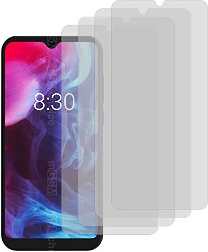4X Crystal Clear klar Schutzfolie für Archos Oxygen 57 Bildschirmschutzfolie Displayschutzfolie Schutzhülle Bildschirmschutz Bildschirmfolie Folie