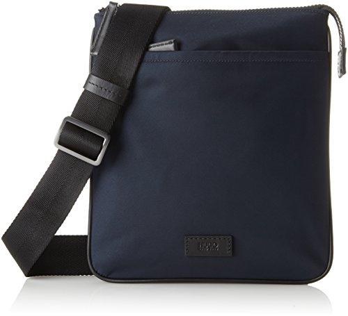 Hugo - Capital_s Zip Env, Borse a spalla Uomo Blu (Dark Blue)