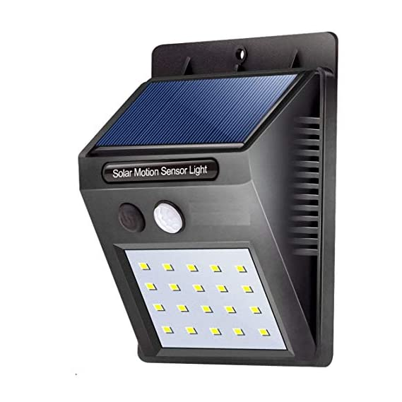 Solar Light 20 LED adtala Bright Outdoor Security Lights with Motion Sensor Wireless Waterproof Night Lighting Solar Powered Spotlight for Garden, Wall, Path, Patio, Front Door, Deck, Driveway