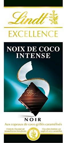 Lindt schwarz Excellence-kokos 100g - Set von 5 - Durch Duftende Reinigungsmittel