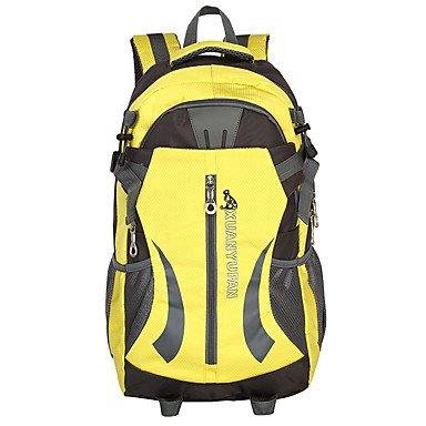 40 L Rucksack Camping & Wandern Reisen tragbar Atmungsaktiv Feuchtigkeitsundurchlässig Blue