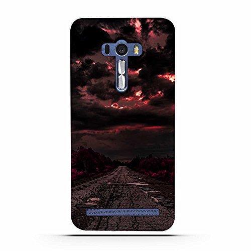 Asus ZenFone Selfie ZD551KL Hülle, Fubaoda Schöne & romantische Landschaft Serie TPU Case Schutzhülle Silikon Case für Asus ZenFone Selfie ZD551KL