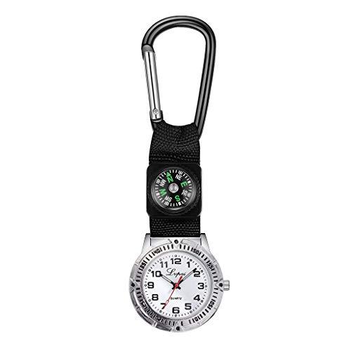 waotier Hombres Reloj Deportivo PortáTil BrúJula MultifuncióN Enfermera Caracteristicas Modelos Colgante Reloj