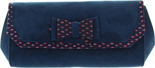 RUBY SHOO Ruby Shoo Clutch Brighton 50056 Navy Navy