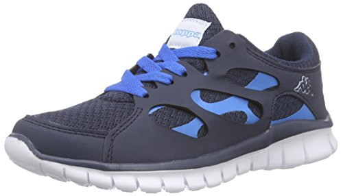 Kappa Fox Light Footwear Unisex, Synthetic/Mesh, Baskets Basses mixte adulte Bleu - Blau (6760 navy/blue)