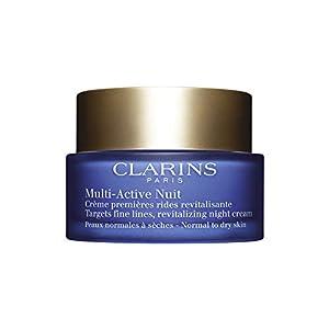 Clarins Multi Active Crema de Noche, Piel Normal a Seca – 50 ml