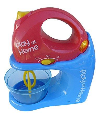 Spielzeug Mixer-Set, A183/00, 3 TLG. Set für kleine Back- und Kochexperten, Sound und Licht, Handmixer Standmixer Geschenk-Idee Jungen Mädchen Weihnachten Geburtstag Geburtstags-Geschenk