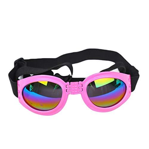 Provide The Best Faltbares Hunde UV-Schutz-Sonnenbrillen Objektive mit verstellbarem Gurt