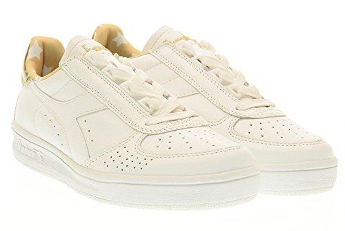 Calzature Donna DIADORA sneaker bassa Blanc / or