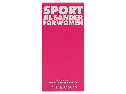 Jil Sander Sport for Women femme/woman, Eau de Toilette, Vaporisateur/Spray, 50 ml, 1er Pack (1 x 50 ml)
