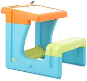 Smoby - 28061 - Fourniture Scolaire - Bureau Petit Écolier - Bleu