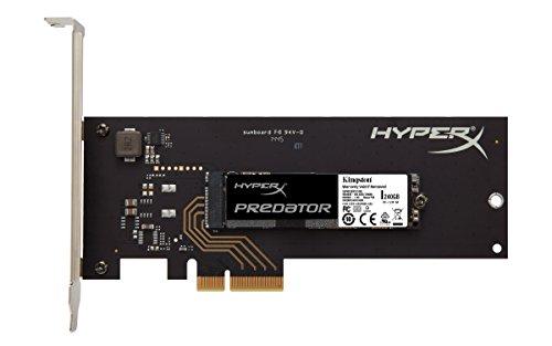 HyperX Predator - Disco duro sólido interno de 240 GB (SSD PCIe Gen2 x4 (HHHL), con adaptador)